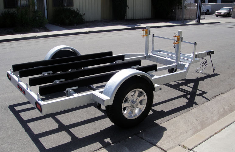 Car Motorcycle Trailer Combo