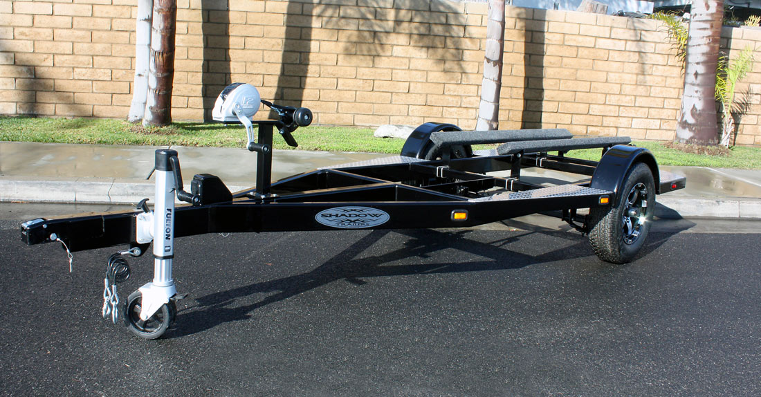 73 Pwc Motorcycle And Flatbed Trailers Shadow Trailers