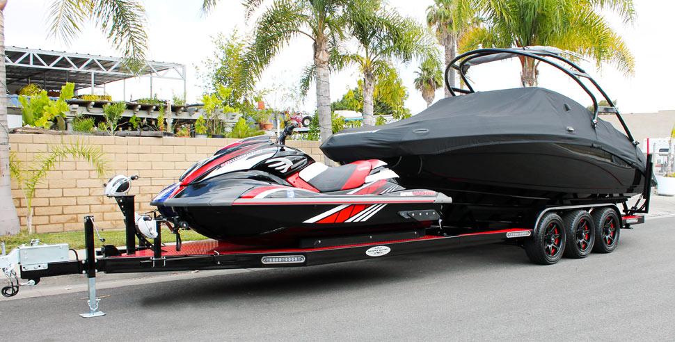 Gallery For > Jet Ski Boat Combo