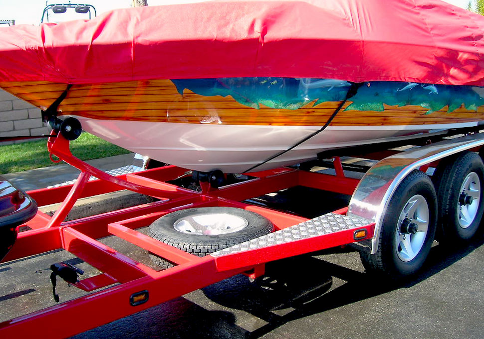 Combination Boat & Jet Ski Trailer