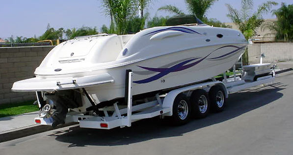 Single Level Boat & PWC Trailer