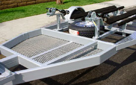 Jet Ski Trailer, Storage Area