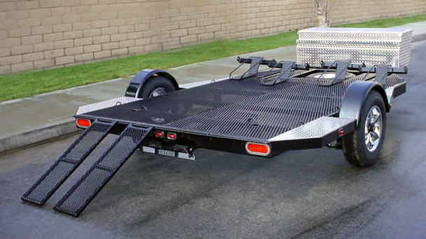 Aluminum Atv Ramps >> CUSTOM BUILT COMBO TRAILER| SHADOW TRAILERS